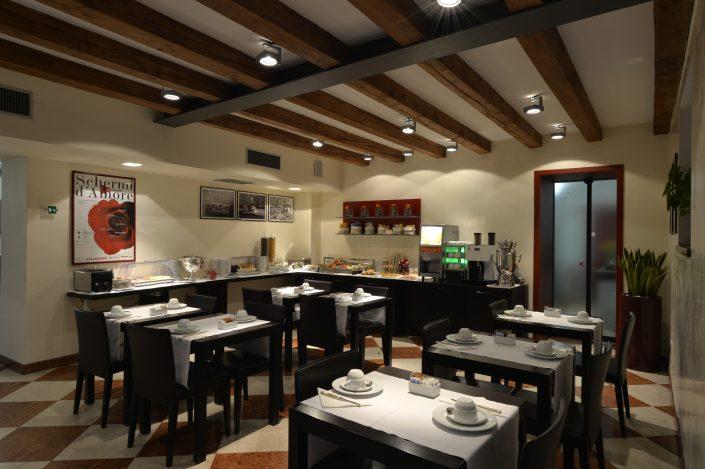 Breakfast room Hotel Armando Verona