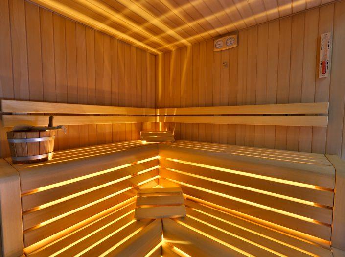 Sauna - Namastè Wellness Center Verona