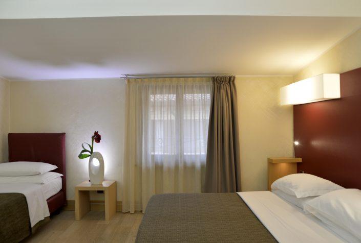 Triple standard room Hotel Armando Verona