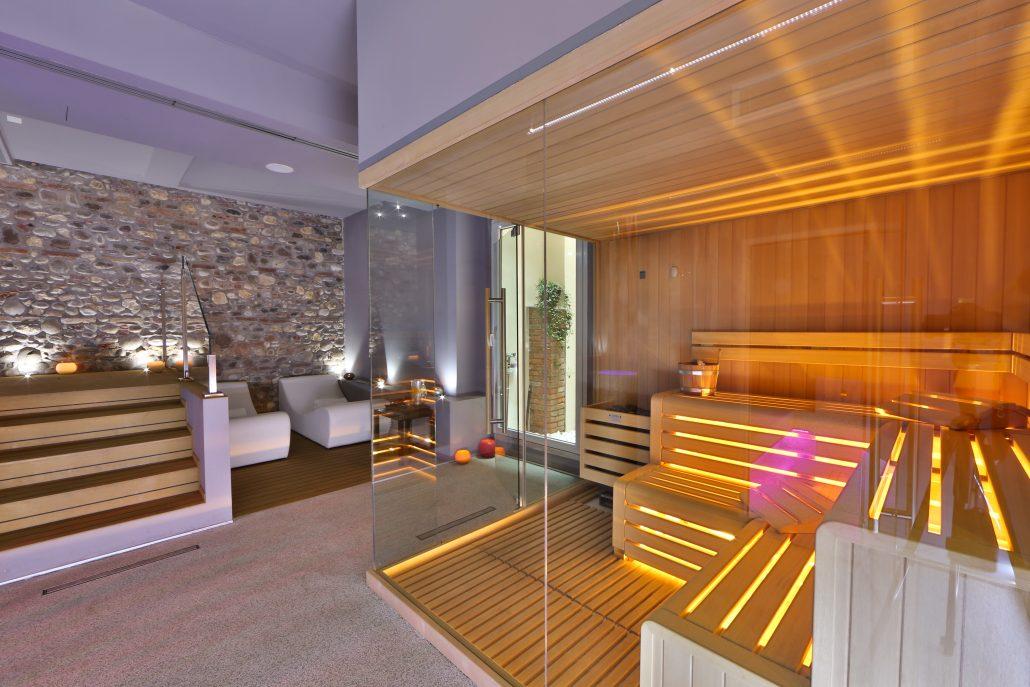 Sauna e centro benessere - Hotel 3 stelle Verona centro