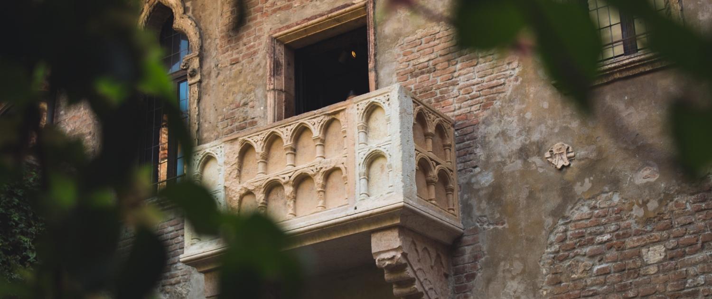 Juliet balcony - Verona