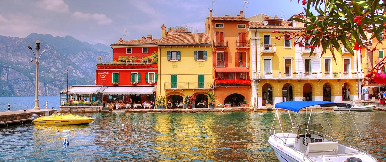 Lago di Garda vicino Verona